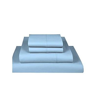 Bluemoon Homes 豪華な1000スレッドカウント イタリア仕上げ エジプト綿100% 4ピースベッドシーツセット、深さ18インチまでのマッ