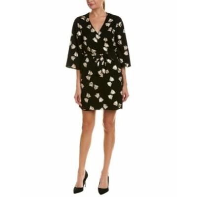 ファッション ドレス Julie Brown Wrap Dress S Black