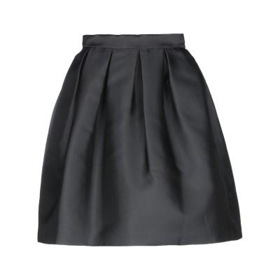 パロッシュ P.A.R.O.S.H. ひざ丈スカート ブラック L ポリエステル 75% / シルク 25% ひざ丈スカート