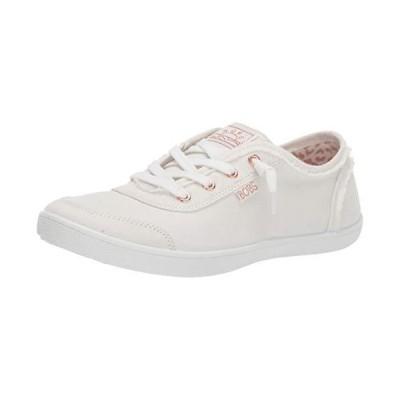 Skechers BOBS Women's Bobs B Cute Sneaker, White, 10 M US