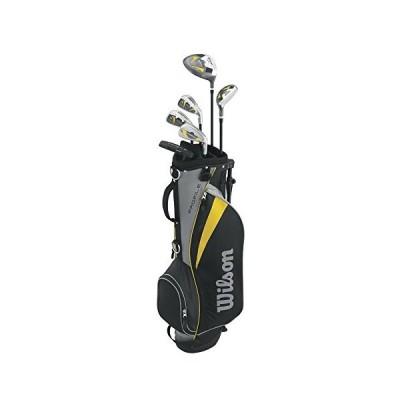 Wilson Men's Profile Junior Complete Package Golf Set, Right Hand, Yellow, Medium 並行輸入品