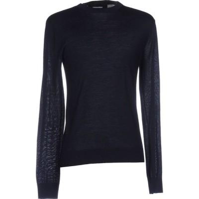 ディースクエアード DSQUARED2 メンズ ニット・セーター トップス sweater Dark blue