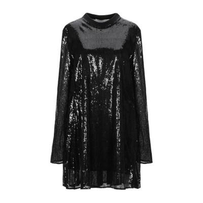 フィロソフィ ディ ロレンツォ セラフィニ PHILOSOPHY di LORENZO SERAFINI ミニワンピース&ドレス ブラック 42 ポ