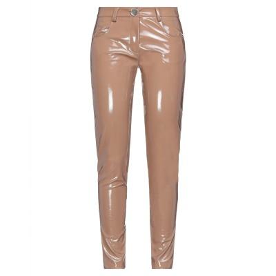 ANGELA MELE MILANO パンツ ライトブラウン XS ポリエステル 95% / ポリウレタン 5% / ポリウレタン パンツ