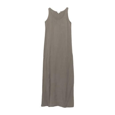 CROSSLEY ロングワンピース&ドレス ミリタリーグリーン XS 指定外繊維(テンセル)® 100% ロングワンピース&ドレス