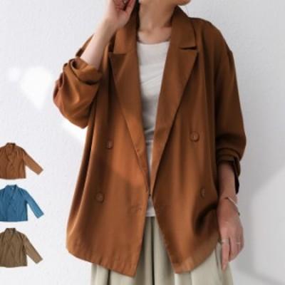 好バランスなショート丈。綺麗を保てる高スペックジャケット。ダブルジャケット 送料無料・メール便不可