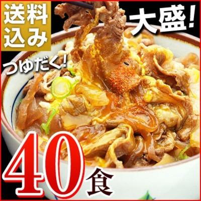 牛丼の具 冷凍 牛丼の素 日東ベストの牛丼DX 業務用 冷凍食品 185g入を40パック