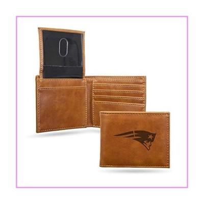 NFL Rico Industries Laser Engraved Billfold Wallet, New England Patriots【並行輸入品】