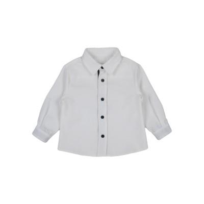 I GIANBURRASCA シャツ ホワイト 3 コットン 67% / PES - ポリエーテルサルフォン 33% シャツ