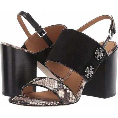 トリー バーチ Tory Burch レディース サンダル・ミュール シューズ・靴 Kira 85 mm Sandal Perfect Black/Warm Roccia