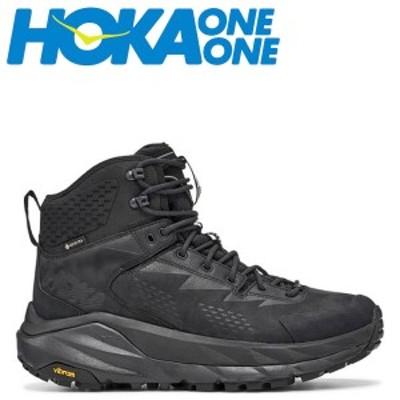 HOKA ONE ONE ホカオネオネ スカイ カハ スニーカー メンズ 防水 SKY KAHA GTX ブラック 黒 1112030