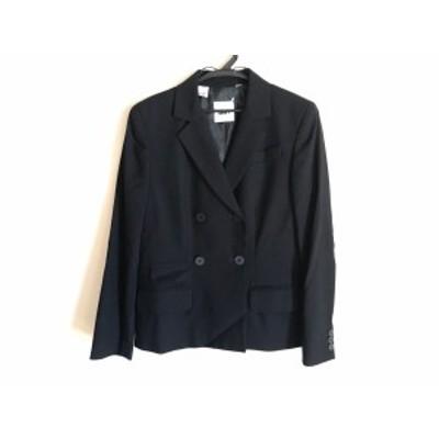 ダナキャラン DKNY ジャケット サイズ2 M レディース 黒【中古】