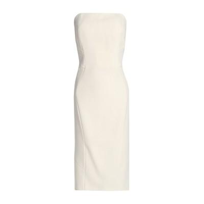 ZAC POSEN ミニワンピース&ドレス アイボリー 12 アセテート 80% / ポリエステル 20% ミニワンピース&ドレス