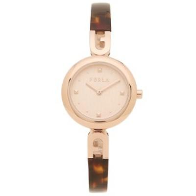 フルラ 時計 レディース 腕時計 バングル28 MM クォーツ ローズゴールド ブラウン FURLA WW00010001L3【返品OK】
