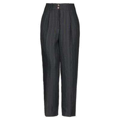 VICOLO パンツ ブラック L レーヨン 88% / ポリエステル 12% パンツ