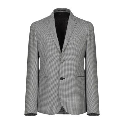 エンポリオ アルマーニ EMPORIO ARMANI テーラードジャケット ブラック 48 バージンウール 100% テーラードジャケット