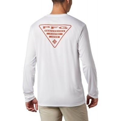 コロンビア Columbia メンズ トップス Terminal Tackle PFG Destination Long Sleeve Shirt White/Texas