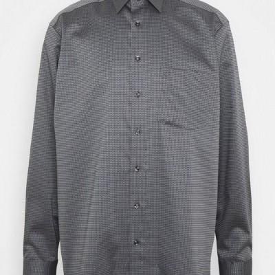 オリンプ メンズ シャツ OLYMP LUXOR COMFORT FIT - Shirt - grey