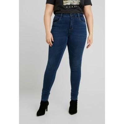 オンリー カルマコマ レディース デニムパンツ ボトムス Jeans Skinny Fit - medium blue denim medium blue denim