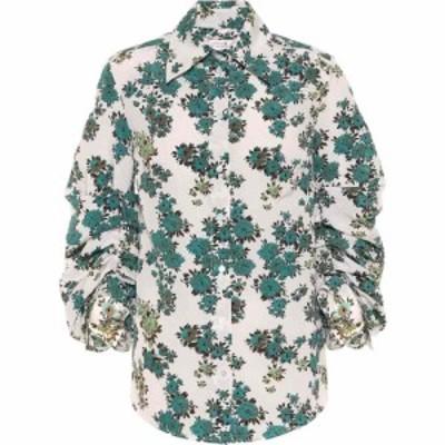 ヴィクトリア ベッカム Victoria Victoria Beckham レディース ブラウス・シャツ トップス Floral blouse Ditsy Greens