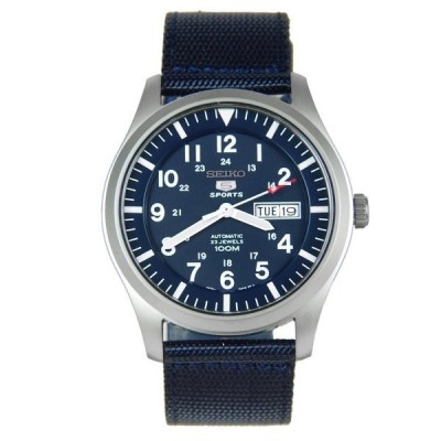 セイコー SEIKO 5 セイコー5 スポーツ SPORTS 自動巻き メンズ 腕時計 SNZG11K1 ネイビー