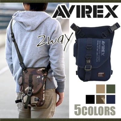AVIREX EAGLE アヴィレックス イーグル レッグバッグ ショルダーバッグ ボディバッグ 肩掛け レディース メンズ ブランド