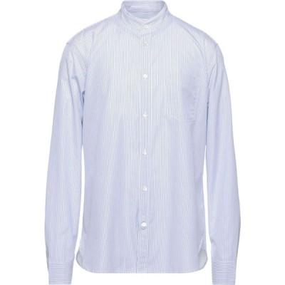 マウロ グリフォーニ MAURO GRIFONI メンズ シャツ トップス Striped Shirt White