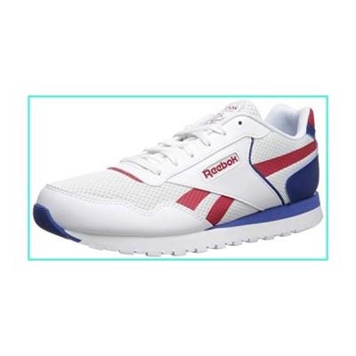 【新品】Reebok Men's Classic Harman Run, White/Excellent Red/Dark Royal, 5 M US(並行輸入品)