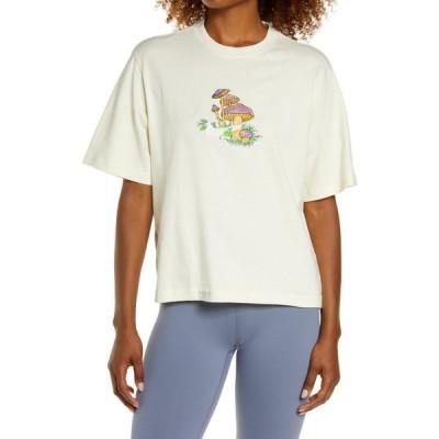 ナイキ NIKE レディース Tシャツ トップス Sportswear Boxy T-Shirt Coconut Milk