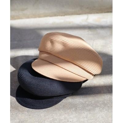 Discoat / ウォッシャブルペーパーキャスケット WOMEN 帽子 > キャスケット