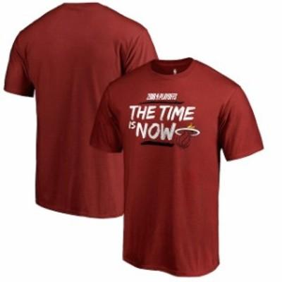 Fanatics Branded ファナティクス ブランド スポーツ用品  Fanatics Branded Miami Heat Red 2018 NBA Playoffs Bet Slogan T-Shirt