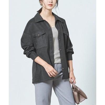 ジャケット ミリタリージャケット ウエストマークシャツジャケット