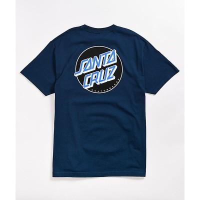 サンタクルーズ SANTA CRUZ SKATE メンズ Tシャツ トップス Santa Cruz Other Dot Harbor Blue T-Shirt Blue