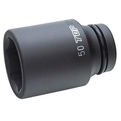 TOP(トップ):インパクト用ディープソケットOリングピン付 差込角25.4mm PT-850L
