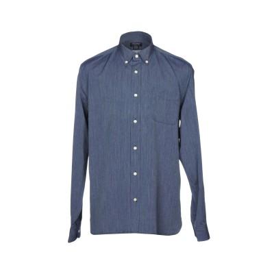 ウールリッチ WOOLRICH シャツ ダークブルー S 100% コットン シャツ