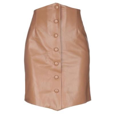 NANUSHKA ひざ丈スカート  レディースファッション  ボトムス  スカート  ロング、マキシ丈スカート ライトブラウン