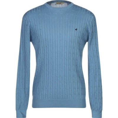 ブルックスフィールド BROOKSFIELD メンズ ニット・セーター トップス sweater Azure