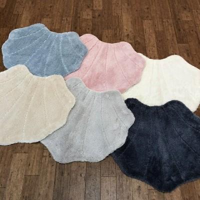 おしゃれな貝殻のトイレタリー エレガントシェル マット カラー6色(ブルー・ピンク・ホワイト・ベージュ・グレー・ダークブルー)