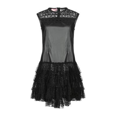 ジャンバ GIAMBA ミニワンピース&ドレス ブラック 40 ポリエステル 52% / ポリウレタン 48% / ナイロン ミニワンピース&ドレス