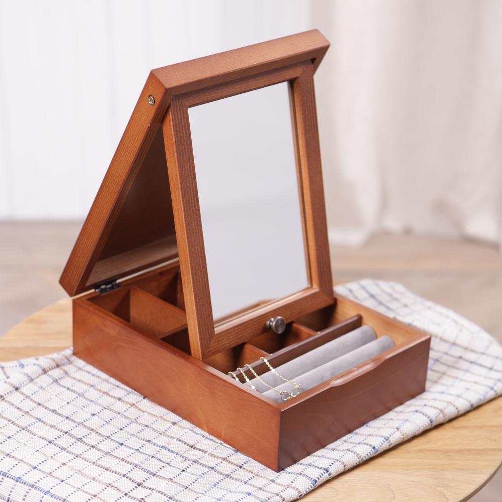 Angelina附鏡精品飾物盒