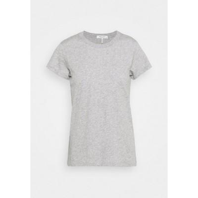 ラグアンドボーン Tシャツ レディース トップス THE SLUB TEE - Basic T-shirt - heather grey