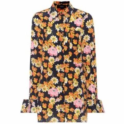 ジョゼフ Joseph レディース ブラウス・シャツ トップス Cassidy floral-printed silk shirt Multicolor