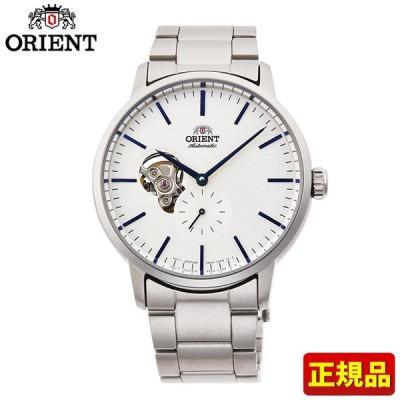 ポイント最大6倍 ORIENT オリエント 機械式 メカニカル 自動巻き RN-AR0102S コンテンポラリー メンズ 腕時計 国内正規品 白 ホワイト 銀 シルバー