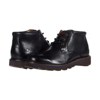 Nunn Bush ナンブッシュ メンズ 男性用 シューズ 靴 ブーツ チャッカブーツ Buchanan Plain Toe Chukka - Black