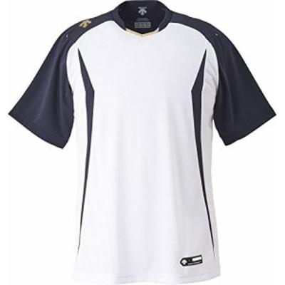 DESCENTE(デサント) 野球 ベースボールシャツ ネイビー Lサイズ DB120