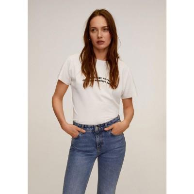 Tシャツ .-- PSGREAT (ナチュラルホワイト)