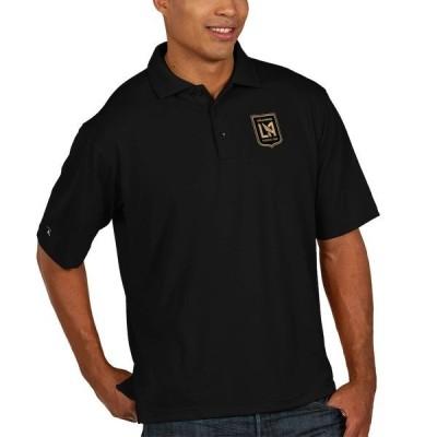 アンティグア メンズ ポロシャツ トップス LAFC Antigua Pique Xtra Lite Big & Tall Polo