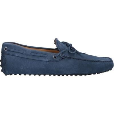 トッズ TOD'S メンズ ローファー シューズ・靴 loafers Slate blue