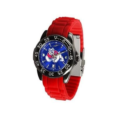 Fresno State Bulldogs Fantomスポーツシリコンメンズ腕時計