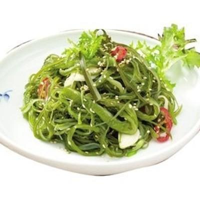 冷蔵自家製わかめの芯炒め(200g) ワカメ ワカメつる おかず 惣菜 韓国おかず 韓国料理